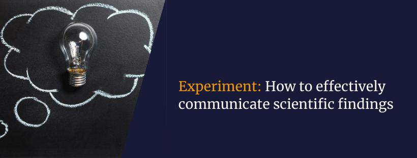 Experiment blog post