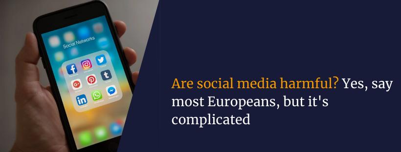 Are social media harmful